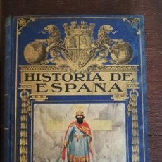 Libros antiguos: HISTORIA DE ESPAÑA .BIBLIOTECA HISPANIA 4 EDICION 1936 ED.RAMON SOPENA. Lote 205737155