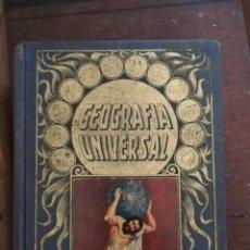 Libros antiguos: GEOGRAFIA UNIVERSAL .BIBLIOTECA HISPANIA 4 EDICION.1936. Lote 205737963