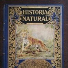 Libros antiguos: HISTORIA NATURAL POPULAR .BIBLIOTECA HISPANIA 3 EDICION.1935. Lote 205739992