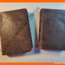 Libros antiguos: LA ABADESA Ó LAS INTRIGAS INQUISITORIALES. 2 TOMOS - W.H. IRELAND. Lote 205740166