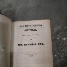 Libros antiguos: 1848? LOS SIETE PECADOS CAPITALES TOMO II - MR. EUGENIO SUE. Lote 205762582