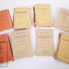 Libros antiguos: 8 OBRAS / NOVELAS BIBLIOTECA DE EL LIBERAL - CADENAS DE ORO, LOS DOS CONVICTOS... AÑO 1885. Lote 205880468
