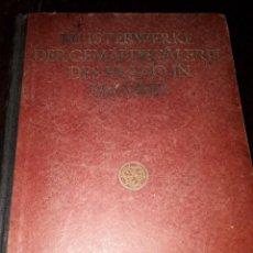 Livres anciens: LIBRO 1727 MEISTERWERKE DER GEMALDESAMMLUNG DES PRADO IN MADRID MUSEO DEL PRADO 1922. Lote 205896820