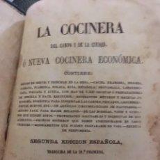 Livres anciens: LA COCINERA O LA NUEVA COCINA ECONÓMICA. 1861. Lote 206140081