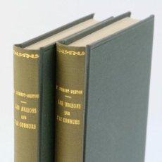 Libros antiguos: LES MAISONS QUE J'AI CONNUES-VIRGINIE DEMONT-BRETON-LIBRAIRIE PLON 1926-TOMO I Y II. Lote 206158621