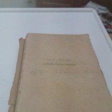 Libros antiguos: MANUAL O PRONTUARIO DE ECONOMÍA POLÍTICA MODERNA. DR. RICARDO ESPEJO DE HINOJOSA. 1927 EST6B4. Lote 206321808