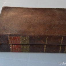 Libros antiguos: ELEMENTOS DEL ARTE DE TEÑIR (2 TOMOS) (MONSIEUR BERTHOLLET). Lote 206573122