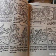 Libros antiguos: FACSÍMIL DE LA DEFENSA DE LA VIRGINIDAD DE MARÍA, DE PABLO HURUS (S. XV). Lote 206767876