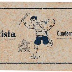 Libros antiguos: CUADERNO PARA COLORIR COLOREAR - EL ARTISTA SERIE A Nº 1 - ESTÁ COLOREADO - 22 X 10.5 CMS. Lote 206780247