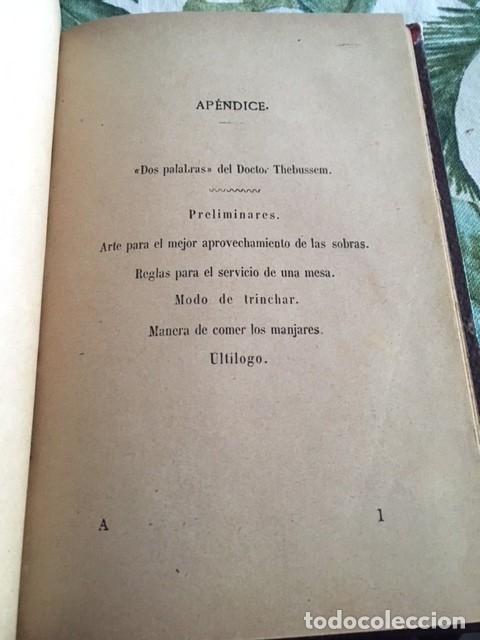 APENDICE DEL PRACTICÓN. ANGEL MURO. FINALES SXIX. GASTRONOMIA (Libros Antiguos, Raros y Curiosos - Cocina y Gastronomía)