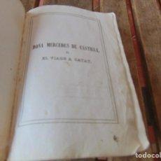 Libros antiguos: DOÑA MERCEDES DE CASTILLA O VIAJE ACATAYFENIMORE COOPERTRADUCIDO CADIZ 1841 GRABADOS. Lote 206812287