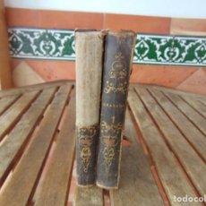 Libros antiguos: 2 TOMOS GRANADA POEMA ORIENTAL LEYENDA DE AL-HAMAR JOSE ZORRILLA PARIS 1852. Lote 206813871