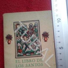 Libros antiguos: TUBAL OBSEQUIO IMPRENTA POLIGRAFA ? BARCELONA AÑOS 20 U26. Lote 206913568
