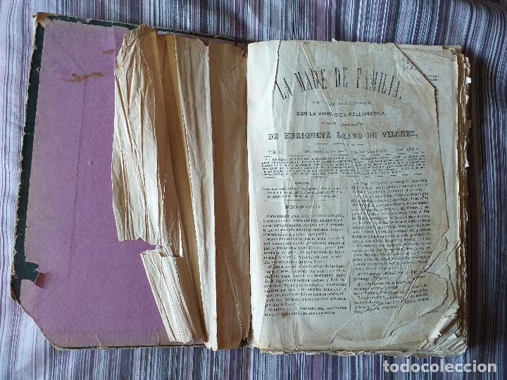 Libros antiguos: La Madre de familia. Enriqueta Lozano Vilchez, 1879. Año completo. Literatura, mujer, historia, XIX - Foto 9 - 57927374