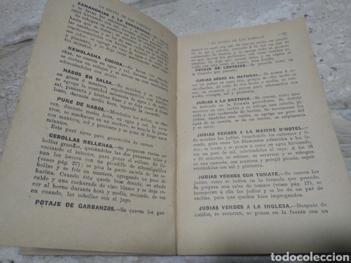 Libros antiguos: La cocina de las familias recetas de cocina primera edición 1936 Rosina farestier - Foto 2 - 206956715