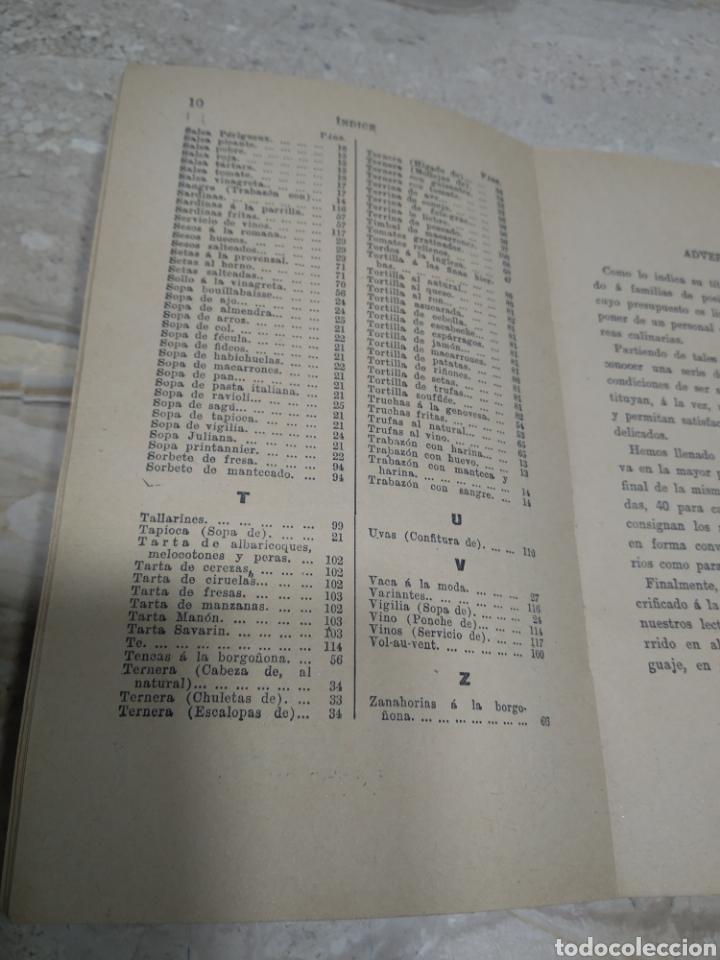 Libros antiguos: La cocina de las familias recetas de cocina primera edición 1936 Rosina farestier - Foto 5 - 206956715