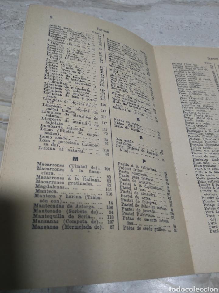 Libros antiguos: La cocina de las familias recetas de cocina primera edición 1936 Rosina farestier - Foto 7 - 206956715