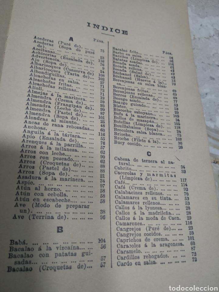 Libros antiguos: La cocina de las familias recetas de cocina primera edición 1936 Rosina farestier - Foto 13 - 206956715