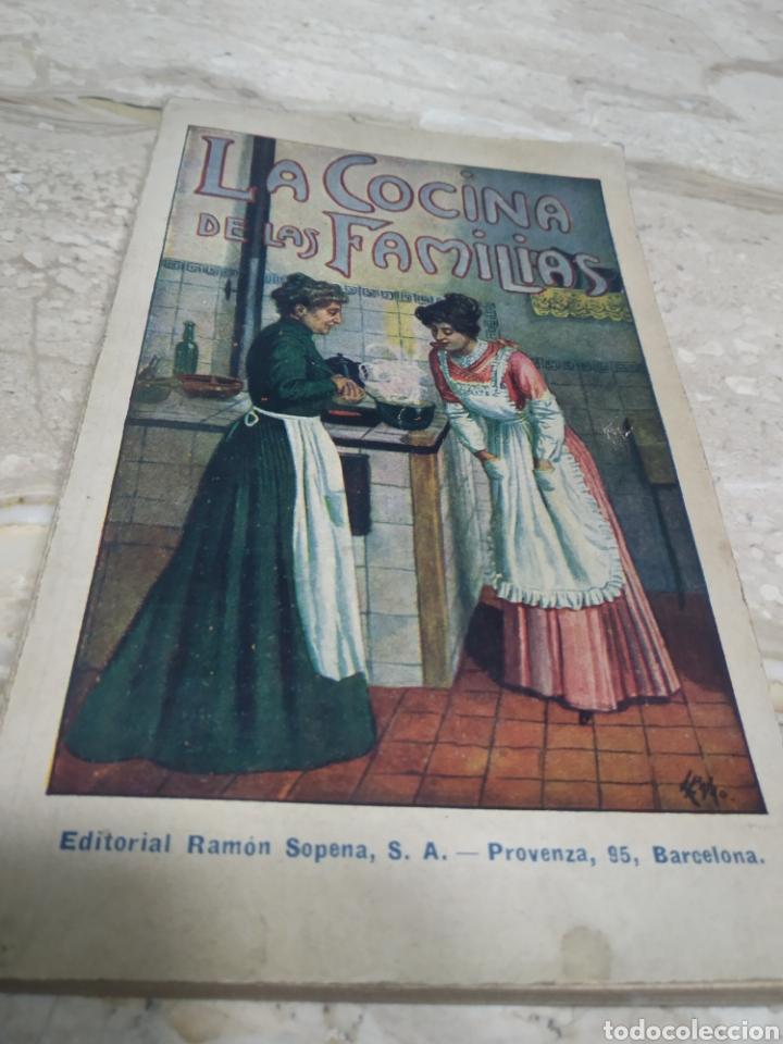LA COCINA DE LAS FAMILIAS RECETAS DE COCINA PRIMERA EDICIÓN 1936 ROSINA FARESTIER (Libros Antiguos, Raros y Curiosos - Cocina y Gastronomía)
