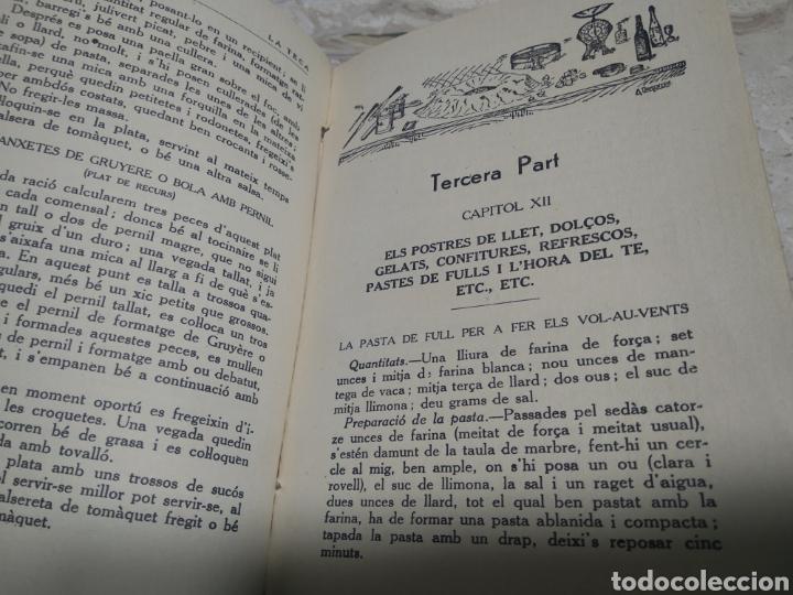 Libros antiguos: Libro de recetas de cocina la teca Ignasi domenech primera edición - Manresa - Foto 3 - 206957680