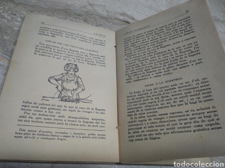 Libros antiguos: Libro de recetas de cocina la teca Ignasi domenech primera edición - Manresa - Foto 7 - 206957680