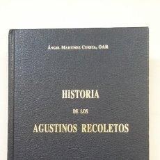 Libros antiguos: HISTORIA DE LOS AGUSTINOS RECOLETOS. VOL. VOLUMEN I. ÁNGEL MARTÍNEZ CUESTA. TDK203. Lote 206961220