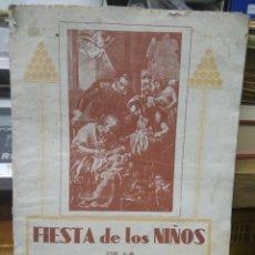Libros antiguos: FIESTA DE LOS NIÑOS DE LA CALLE DE SAN VICENTE AÑO 1934. L.13773-682. Lote 206971125