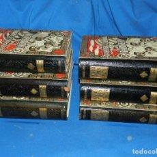 Libros antiguos: (5.7) FRANCESCH CARRERAS Y CANDI - GEOGRAFIA GENERAL DE CATALUNYA- COMPLETA 6 VOLUMENES. Lote 206981993