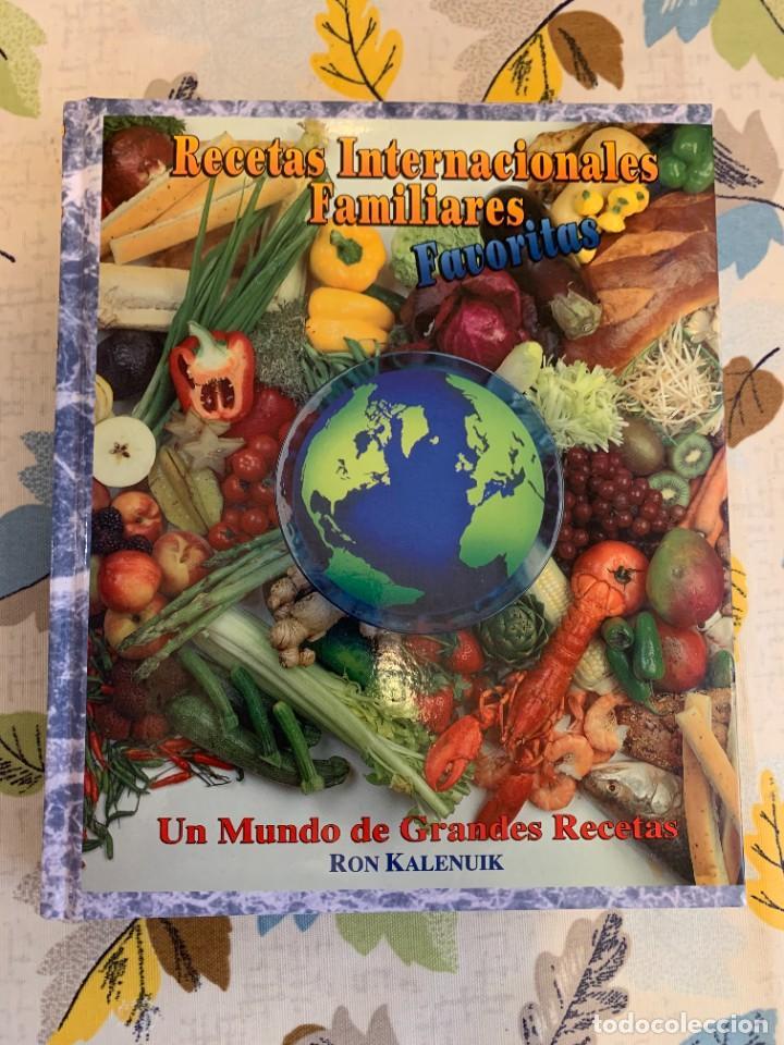 RECETAS DE COCINA INTERNACIONALES FAMILIARES FAVORITAS. NUEVO. (Libros Antiguos, Raros y Curiosos - Cocina y Gastronomía)