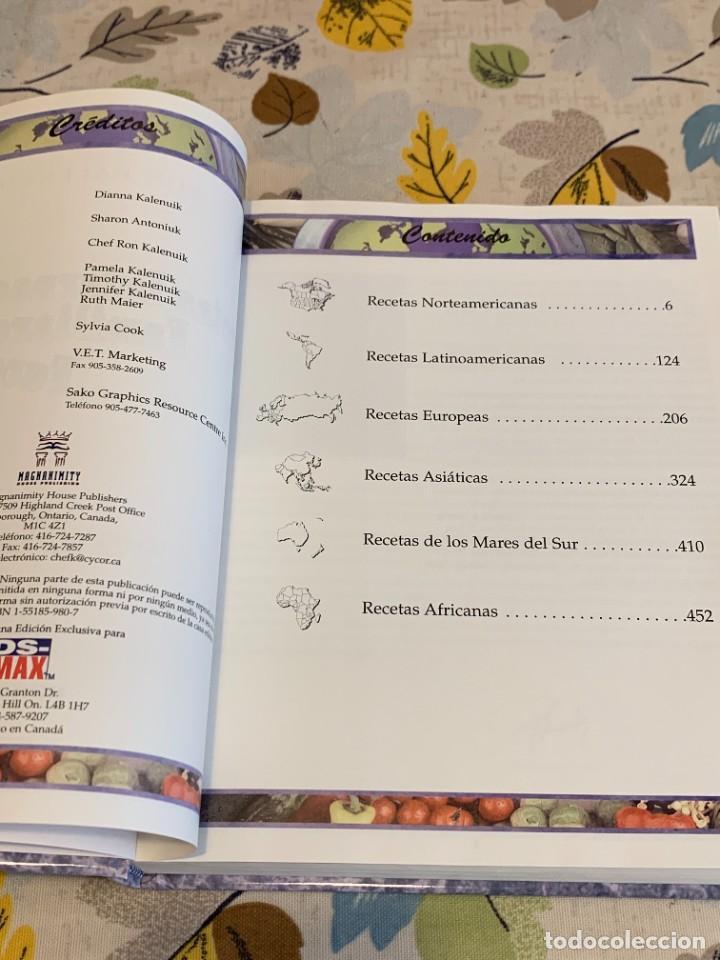 Libros antiguos: Recetas de cocina internacionales familiares favoritas. Nuevo. - Foto 2 - 206993400