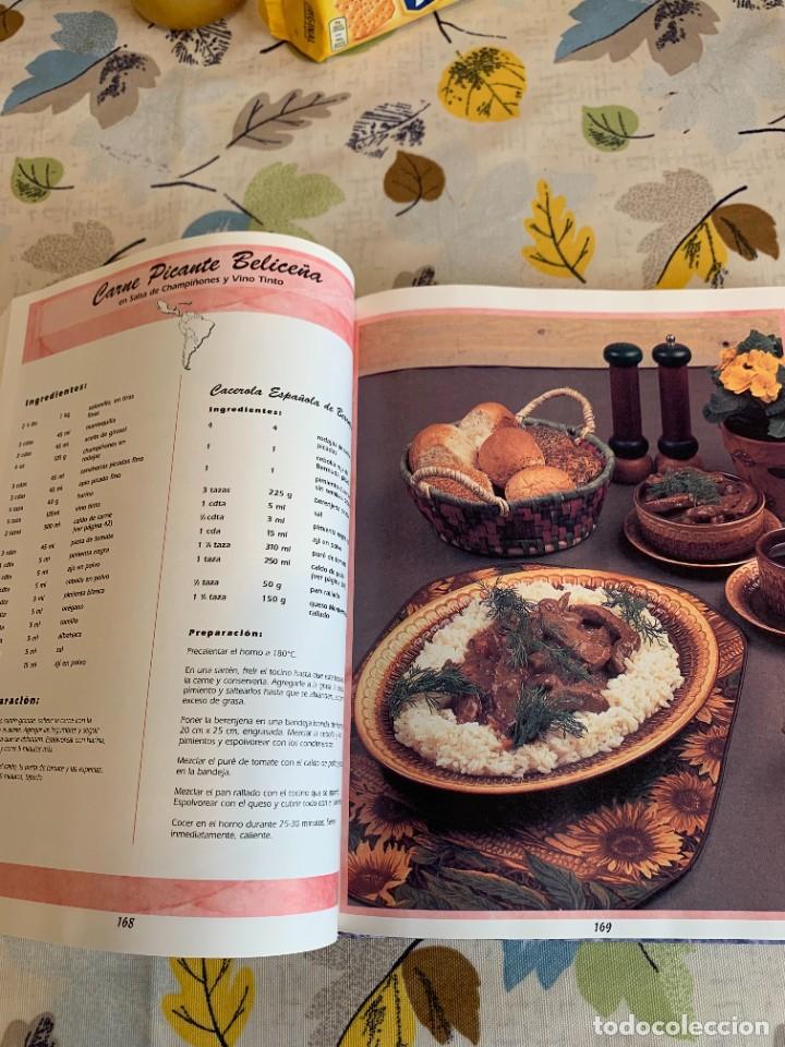 Libros antiguos: Recetas de cocina internacionales familiares favoritas. Nuevo. - Foto 5 - 206993400