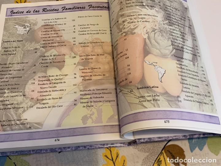 Libros antiguos: Recetas de cocina internacionales familiares favoritas. Nuevo. - Foto 21 - 206993400