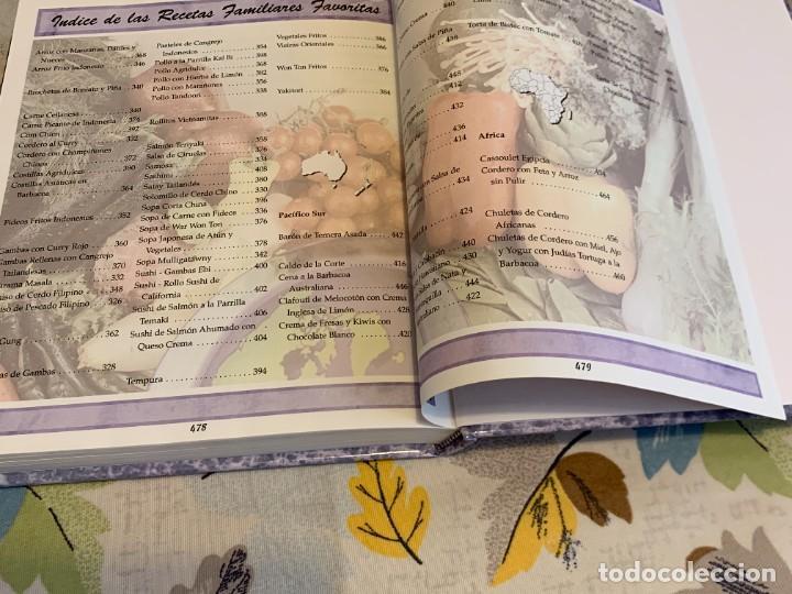 Libros antiguos: Recetas de cocina internacionales familiares favoritas. Nuevo. - Foto 22 - 206993400