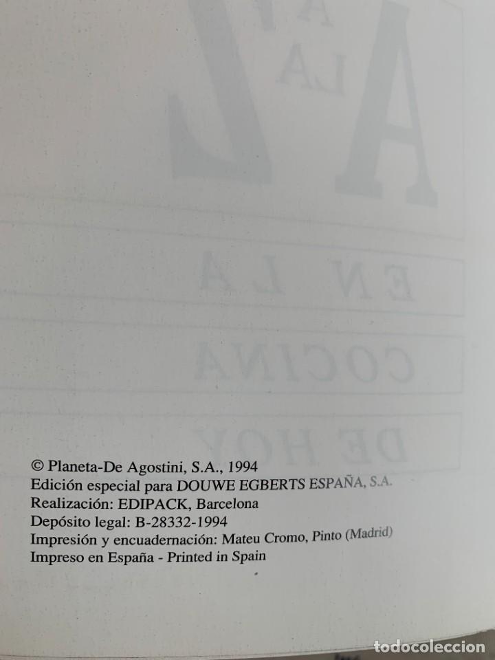 Libros antiguos: De la A a la Z en la cocina de hoy, libro nuevo editado en 1994 - Foto 3 - 206994116