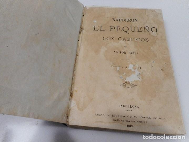 Libros antiguos: VICTOR HUGO Napoleón El pequeño Los castigos Q870W - Foto 3 - 207008512