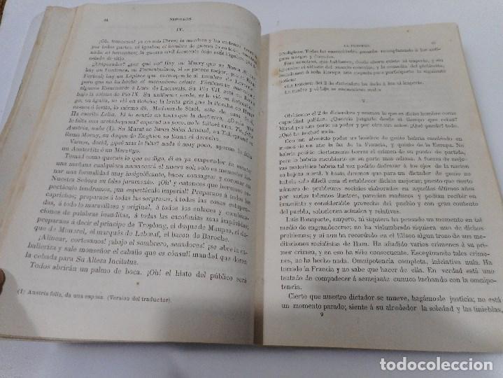 Libros antiguos: VICTOR HUGO Napoleón El pequeño Los castigos Q870W - Foto 5 - 207008512