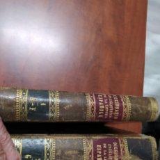 Libros antiguos: DICCIONARIO ENCICLOPÉDICO DE LA LENGUA ESPAÑOLA 1878.. Lote 207038496