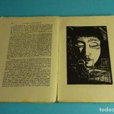 Libros antiguos: L'ASCENSION DE MONSIEUR BASLÈVRE. EDOUARD ESTAUNIE. XILOGRAFÍAS PAR GIRARD. Lote 207095578