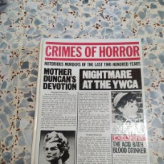 Libros antiguos: CRIMES OF HORROR. TREASURE PRESS. 1987. Lote 207118430