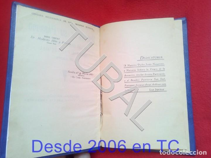 Libros antiguos: TUBAL HUEVAR Y SU PARROCO 1931 U26 - Foto 2 - 207123790