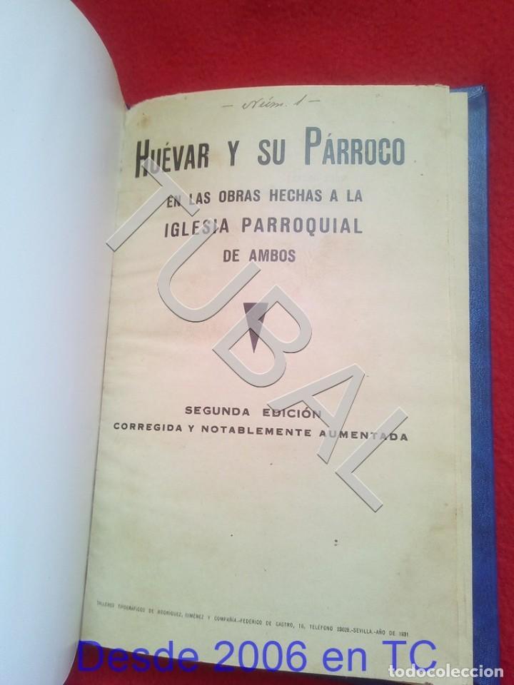 Libros antiguos: TUBAL HUEVAR Y SU PARROCO 1931 U26 - Foto 8 - 207123790