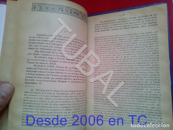 Libros antiguos: TUBAL ULTIMOS DIAS DE LA FERIA DE GUADITOCA ANTONIO MUÑOZ Y TORRADO 1922 U26 - Foto 2 - 207124450