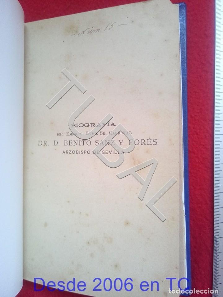 Libros antiguos: TUBAL BENITO SANZ Y FORÉS BIOGRAFIA 1903 IDEFONSO POBLACION U26 - Foto 7 - 207124726