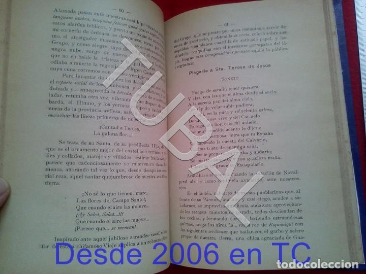 Libros antiguos: TUBAL IMPRESIONES Y ALGO MAS DE PEREGRINO ANDALUZ A AVILA Y ALBA DE TORMES 1914 RAFAEL RODRIGUEZ U26 - Foto 2 - 207125290