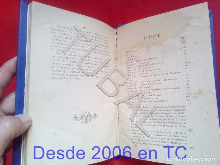 Libros antiguos: TUBAL IMPRESIONES Y ALGO MAS DE PEREGRINO ANDALUZ A AVILA Y ALBA DE TORMES 1914 RAFAEL RODRIGUEZ U26 - Foto 3 - 207125290