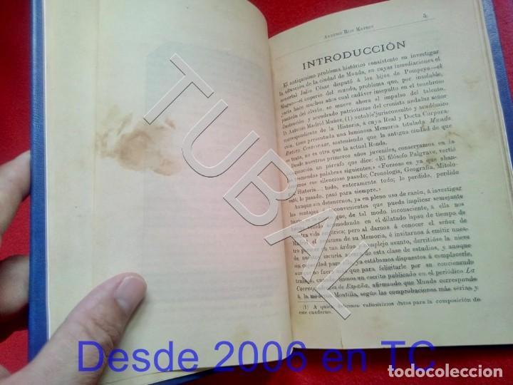 Libros antiguos: TUBAL ECIJA MUNDA ASTIGITANA ANTONIO RUIZ MATEOS 1912 CADIZ U26 - Foto 7 - 207126030