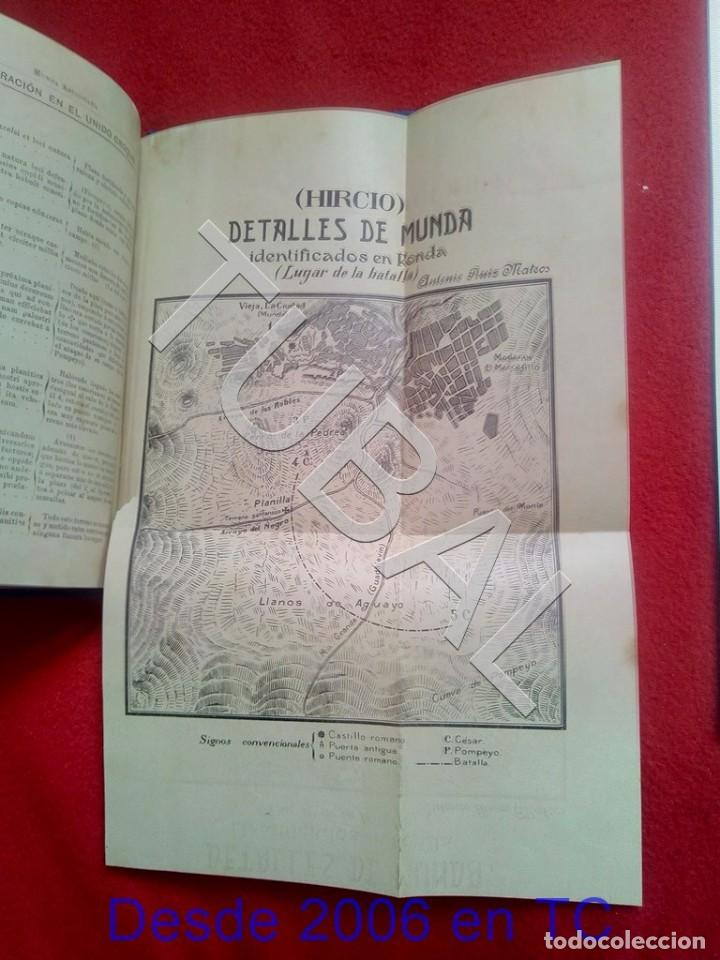 Libros antiguos: TUBAL ECIJA MUNDA ASTIGITANA ANTONIO RUIZ MATEOS 1912 CADIZ U26 - Foto 9 - 207126030