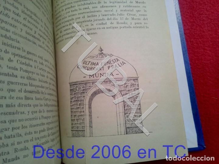 Libros antiguos: TUBAL ECIJA MUNDA ASTIGITANA ANTONIO RUIZ MATEOS 1912 CADIZ U26 - Foto 12 - 207126030