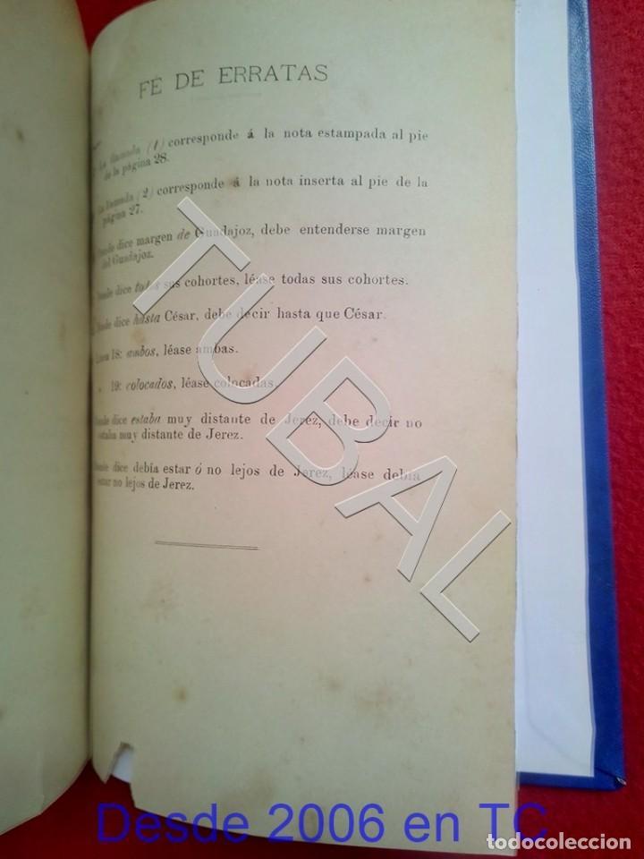 Libros antiguos: TUBAL ECIJA MUNDA ASTIGITANA ANTONIO RUIZ MATEOS 1912 CADIZ U26 - Foto 14 - 207126030