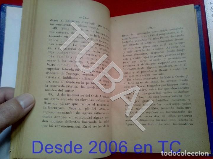 Libros antiguos: TUBAL ANTIGUEDADES DEL PARTIDO JUDICIAL DE ARCOS DE LA FRONTERA MIGUEL MANCHEÑO 1901 U26 - Foto 3 - 207126448